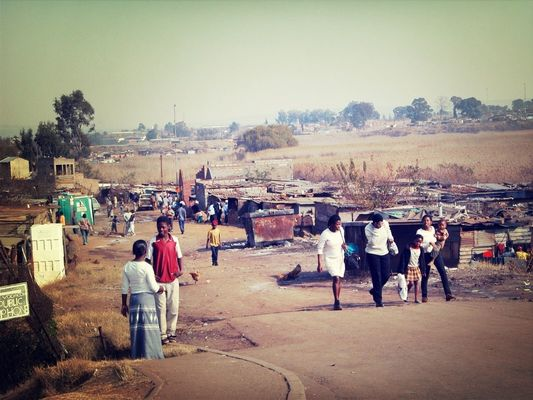 streetphotography at Soweto by Ramón Gea