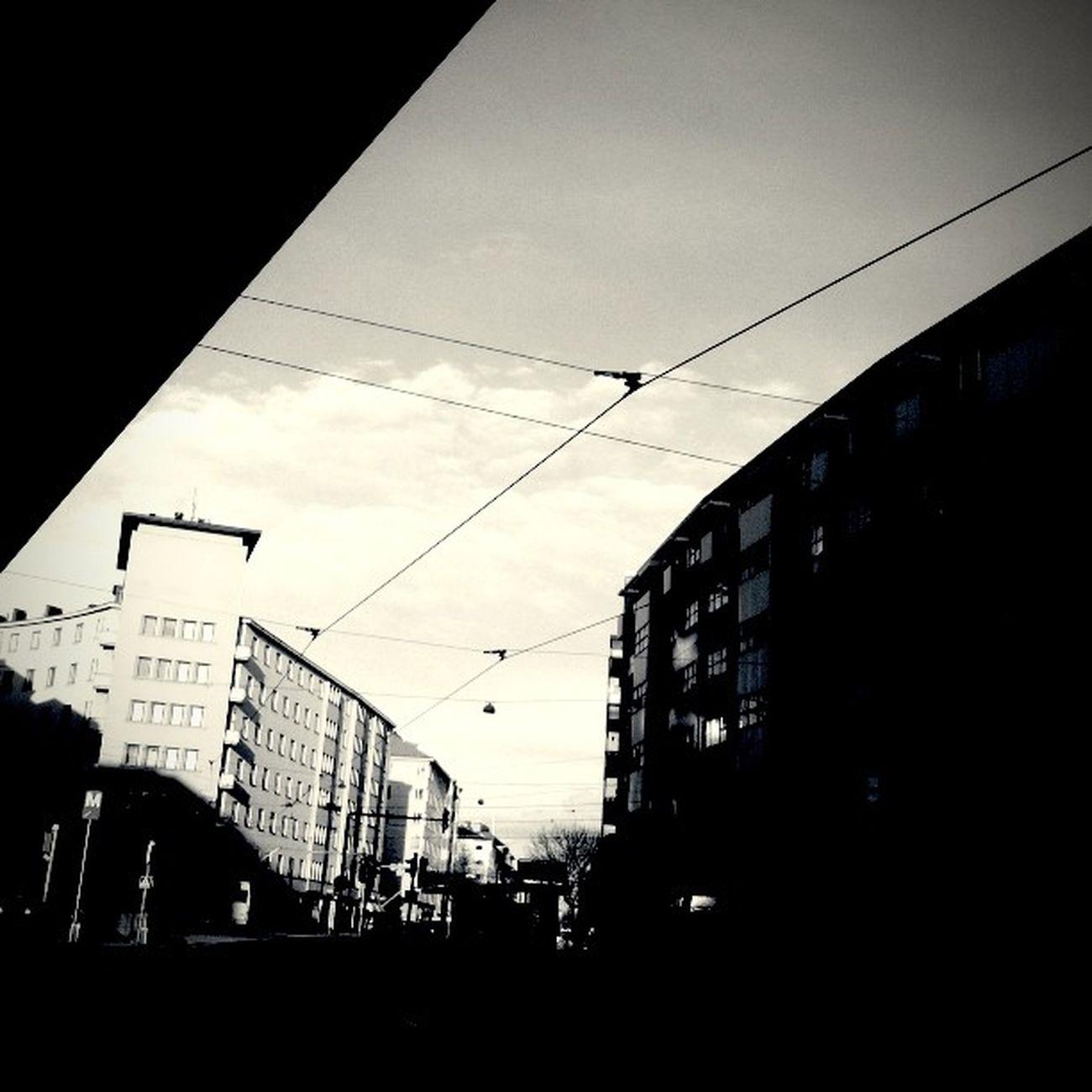 Instafisheye Morning Helsinki Sörnäinen finland