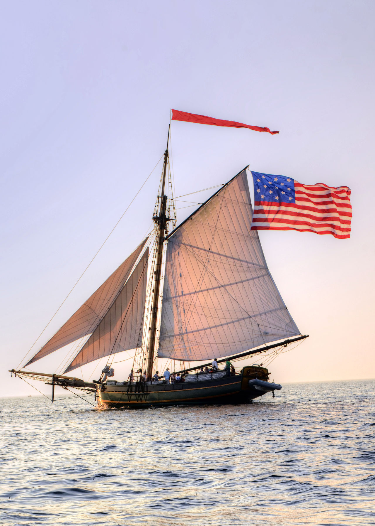 Beautiful stock photos of leinwand, flag, nautical vessel, water, no people