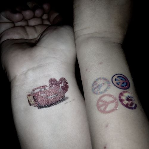 Tatted Up With My Little Guy <3