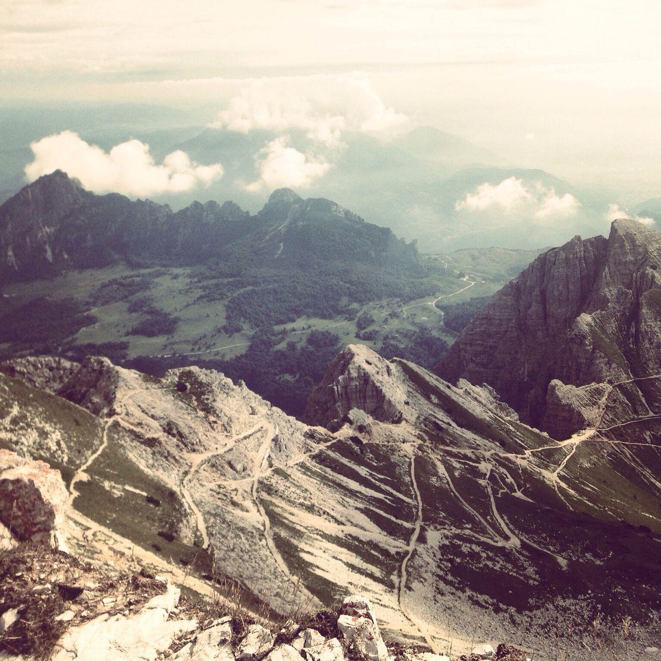 Chi piu lontano sale, piu lontano vede, chi piu lontano vede piu a lungo sogna Mountains Carega Taking Photos Nature Landscape