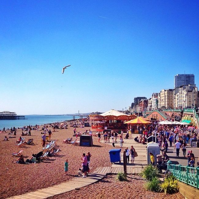 Summer In #Brighton ☀️??☀️#allshots_ #beach Mashpics Top_masters Beach From_city Pro_shooters Alan_in_brighton Brighton Insta_brighton Gang_family Igers_brighton Allshots_ Gf_uk Gi_uk Ig_england Aauk Ic_cities_brighton Capture_today Loveyoursummer