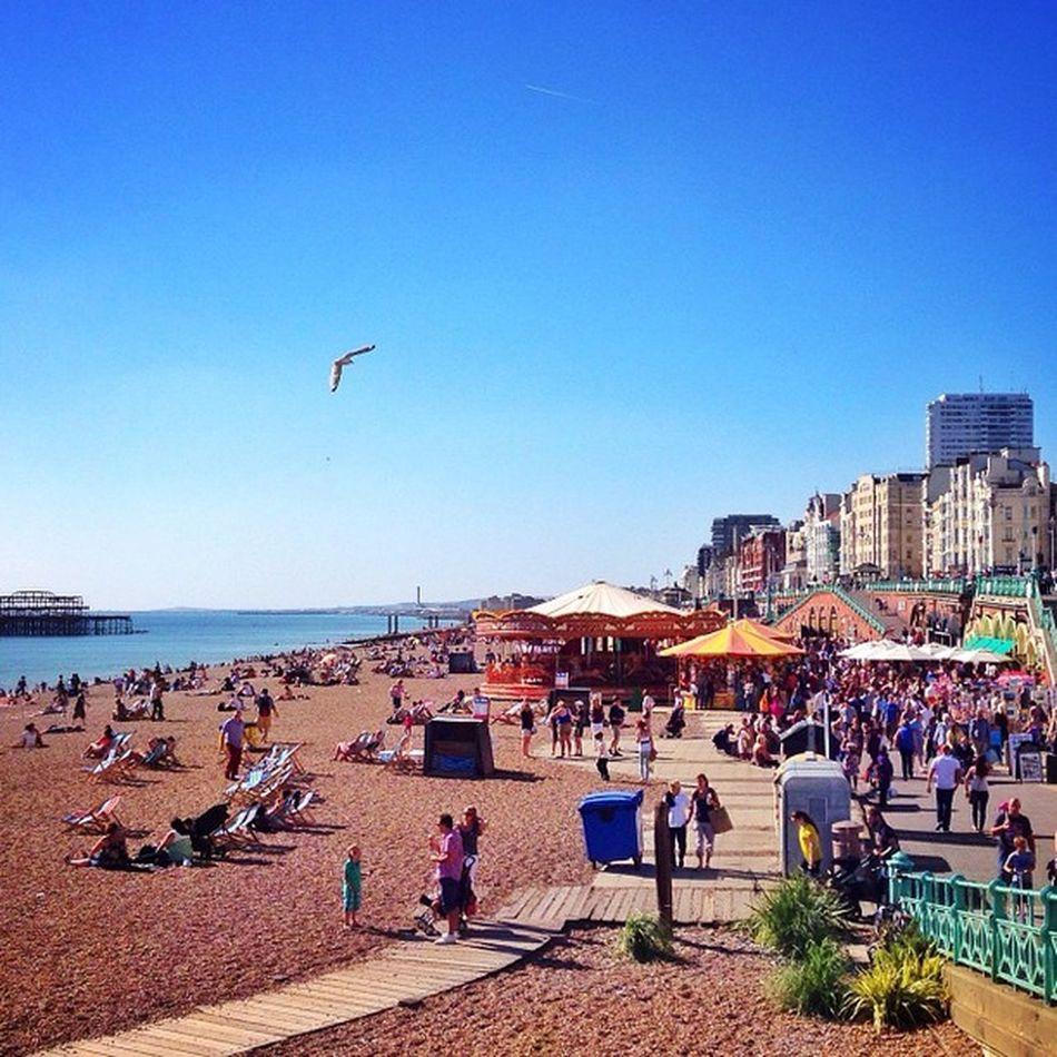 Summer In #Brighton ☀️??☀️#allshots_ #beach Mashpics Top_masters Beach From_city Pro_shooters Alan_in_brighton Brighton Insta_brighton Gang_family Igers_brighton Allshots_ Gf_uk Gi_uk Ig_england Aauk Ic_cities_brighton Capture_today Loveyoursummer