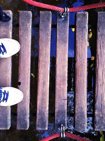 Bridge Feet Backgrounds Creativity Creative Planks From My Point Of View