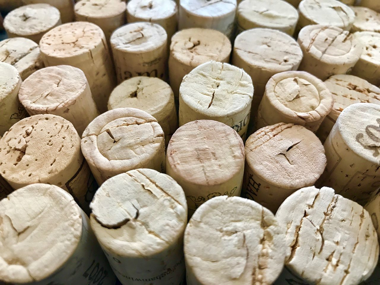 Wine Cork Cork - Stopper Full Frame Backgrounds Food And Drink Textured  No People Close-up Indoors  Day