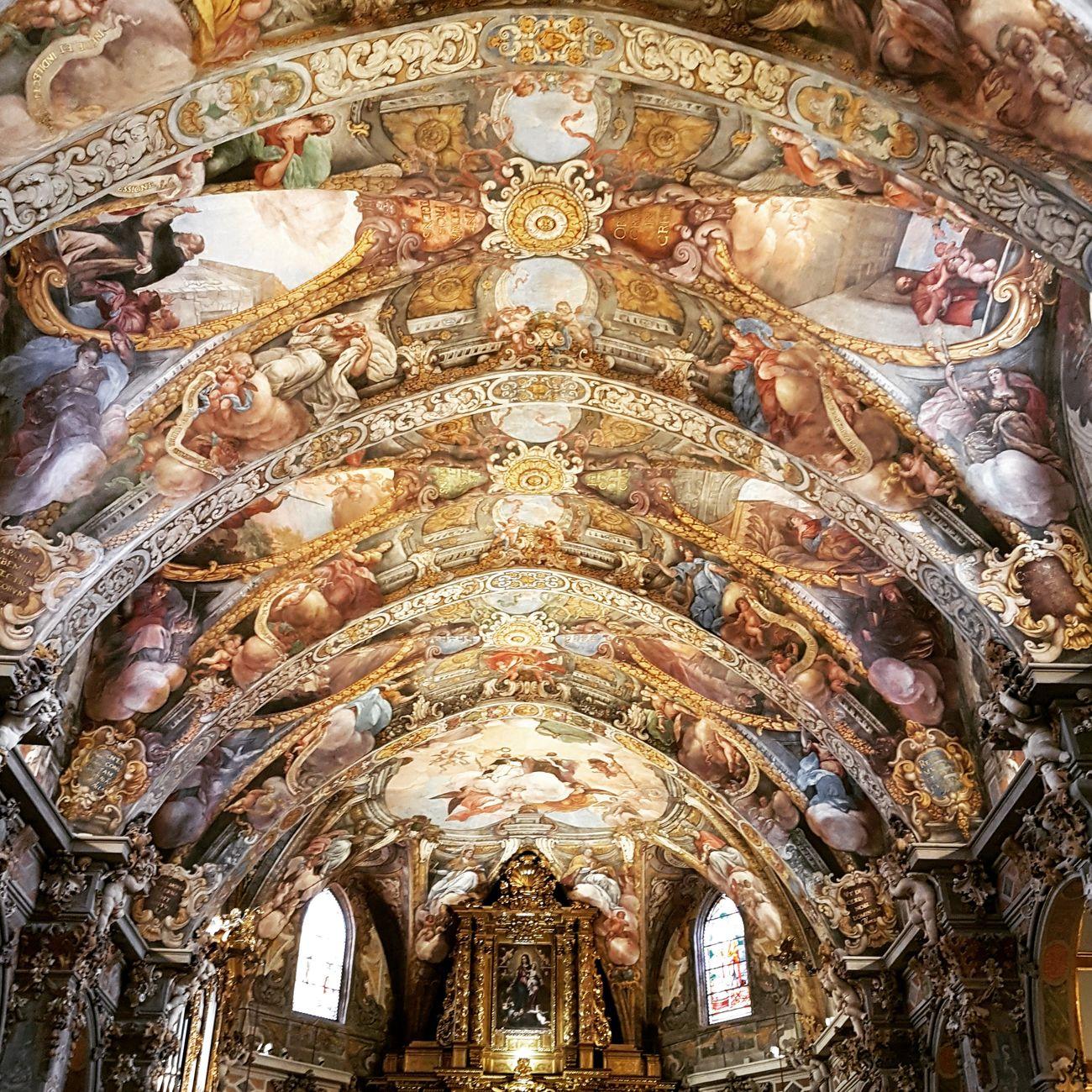 Architecture Tourism Fresco Pintura, Pinting Church València San Nicolás