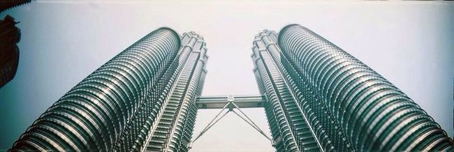 Sprocket Rocket Panorama Lomography Film Film Photography Filmisnotdead 35mm Kuala Lumpur Petronas Twin Towers Architecture