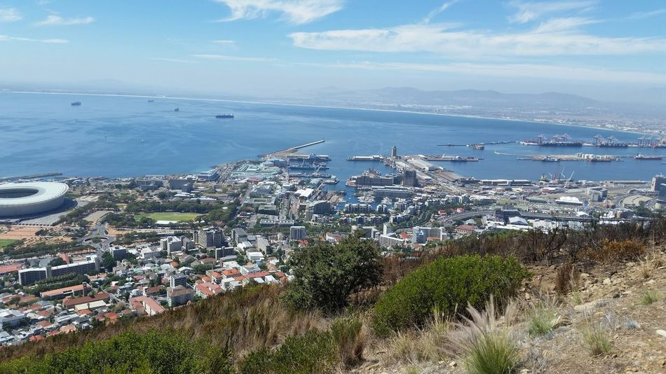 V & A Waterfront I Love Cape Town View From Above Hanging Out Check This Out South Africa Cape Town Signal Hill Picnic Area