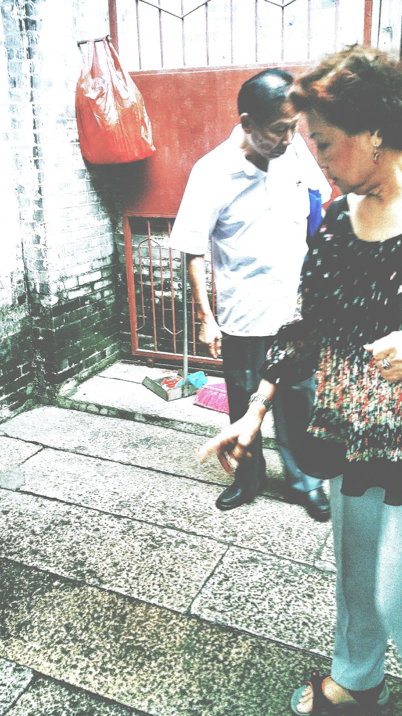 Mother in her second Childhood Home in the 1930s or 1940s Village Jiangmen Guangdong Travelphotography Streetphotography