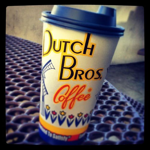 Mmmmmm the thing that keeps me going in the morning at work Teleperformanceboise Dutchbros