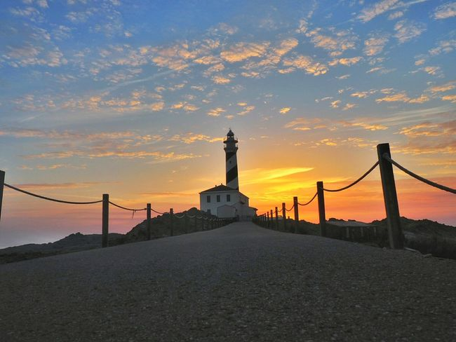 Sunrise in the lighthouse Sunrise Sunrise_Collection Sunrise Silhouette Sunrise And Clouds Lighthouse Lighthouse_lovers Lighthouses Lighthouse_captures Path Paths Favaritx Favaritx (menorca) EyeEm Best Shots EyeEm Best Edits Popular Photos