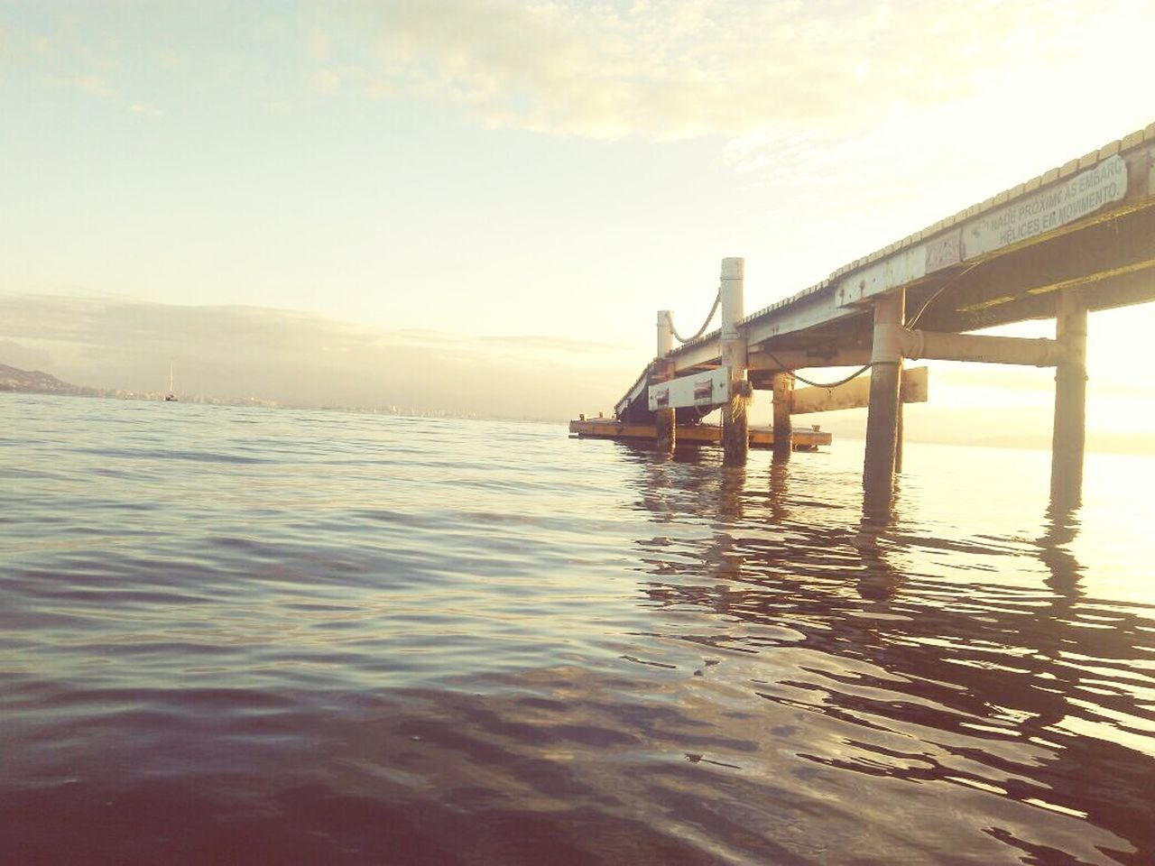 water, sky, built structure, sunset, sea, outdoors, transportation, architecture, no people, nature, beauty in nature, day
