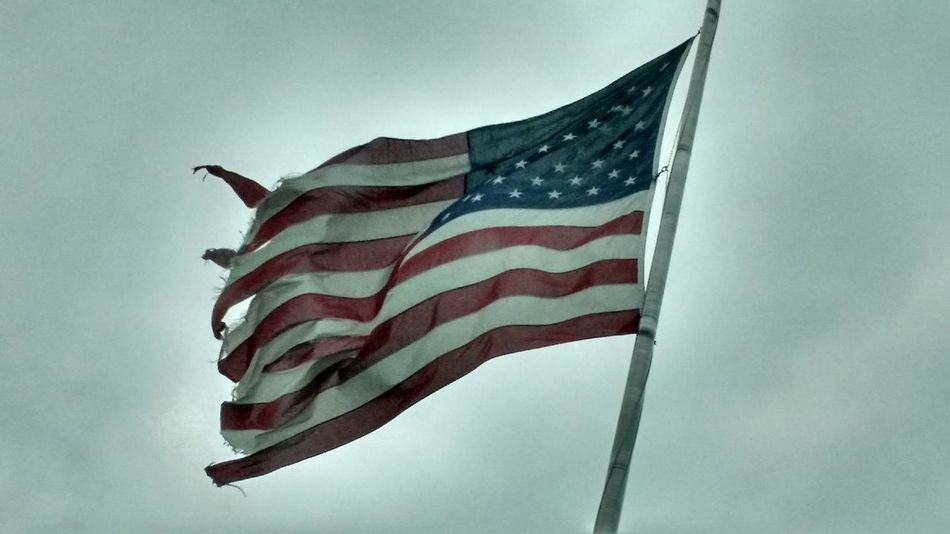 Our flag Flag Patriotism Striped Independence No People Sky Pride National Icon Day Outdoors Stars And Stripes