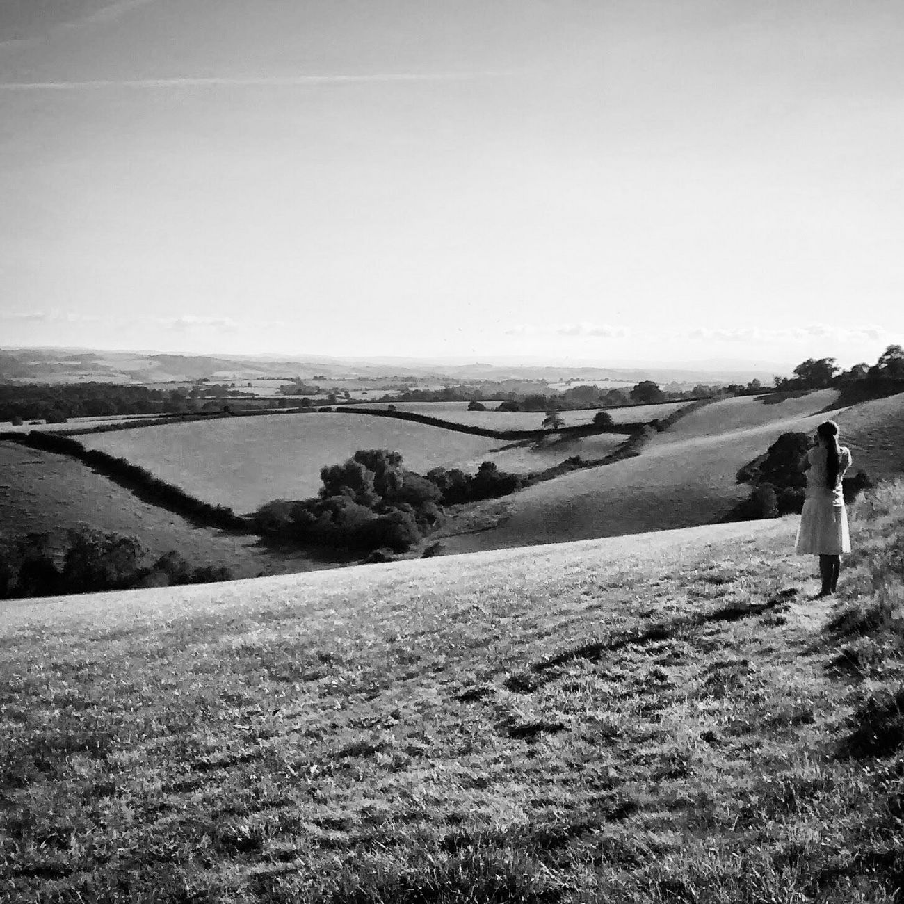 I love Devon, so many Awesome views. Monochrome Blackandwhite Rural Scenes The EyeEm Facebook Cover Challenge