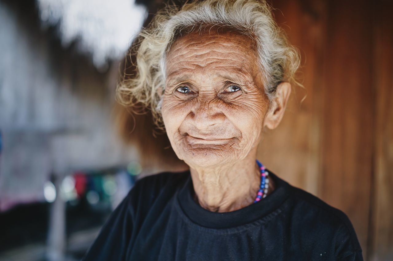 35mm ASIA Asian Woman Bena Bokeh Depth Of Field Elderly Woman Flores Friendly INDONESIA Lined Face Nusa Tenggara Timur Old Old Woman People Portrait Portrait Of A Woman Portrait Photography Travel Photography Traveling Village Life The Portraitist - 2017 EyeEm Awards