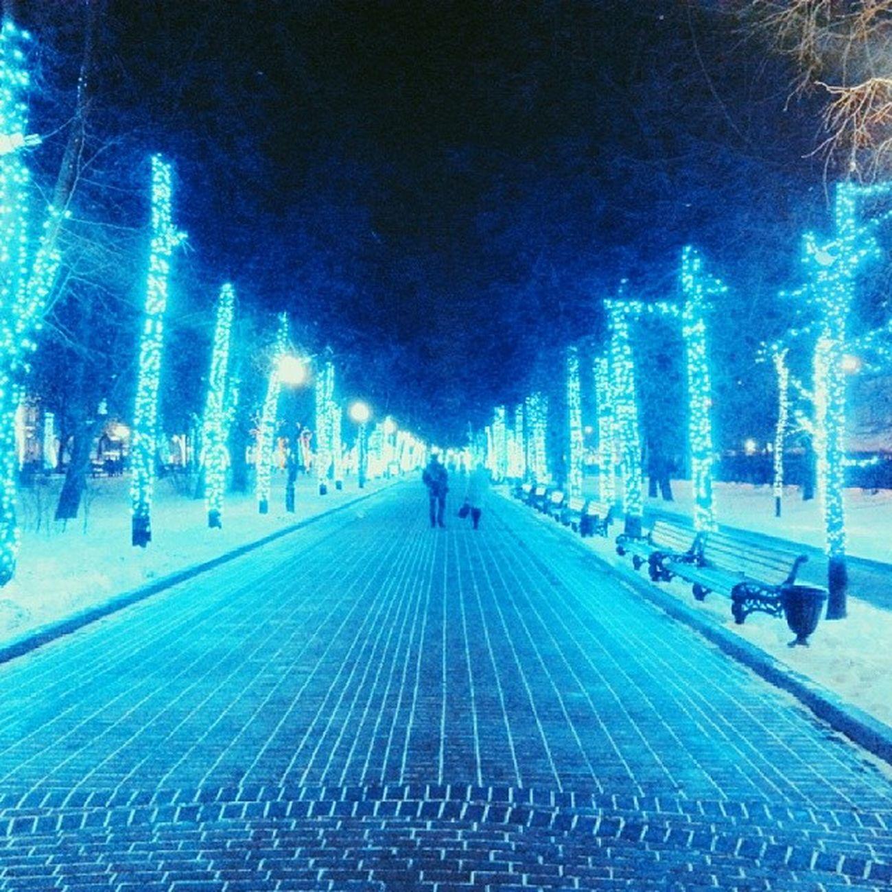 чистые чп чистыепруды бульвар лед зима зима2014