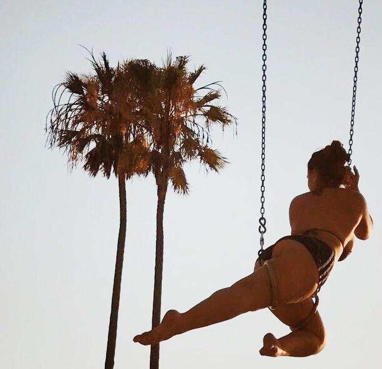 EyeEmNewHere Venice Beach Aerial Muscle Beach Palm Trees