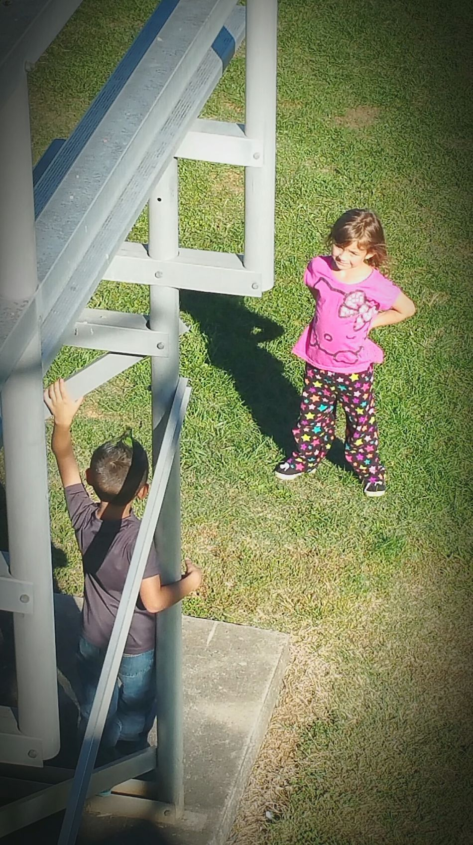 Girl Meets Boy First Love Josie ❤ Playing Kids Being Kids