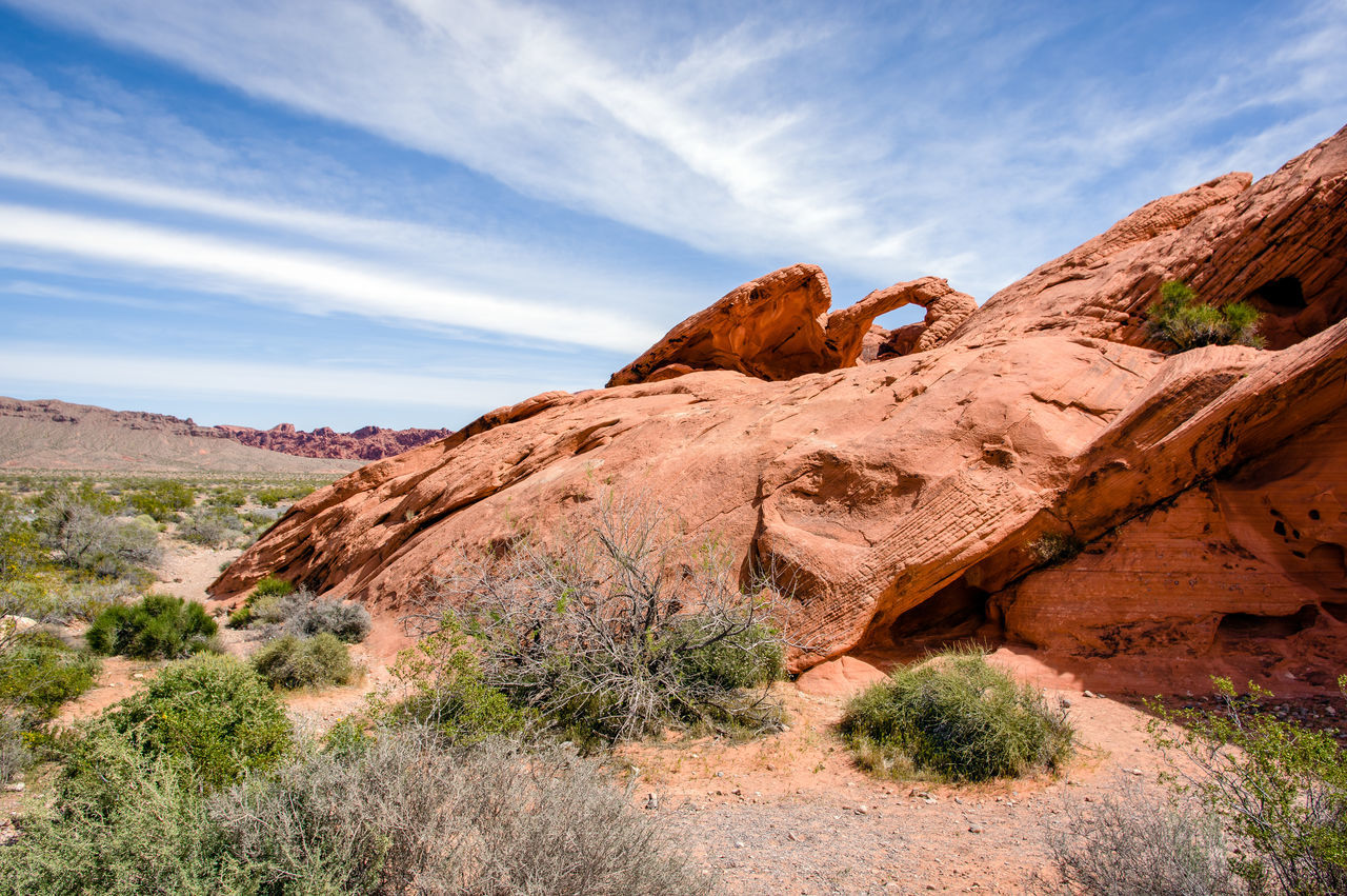 Beauty In Nature Day Geology Landscape Natural Arch Nature No People Outdoors Rock - Object Sky