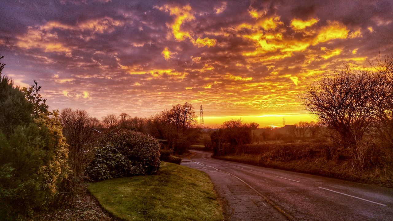 Sunset Sunset_collection Sky And Clouds Sky_collection Beauty In Nature HDR Hdr_Collection Hdr_gallery Nature Photography No People Landscape Outdoors