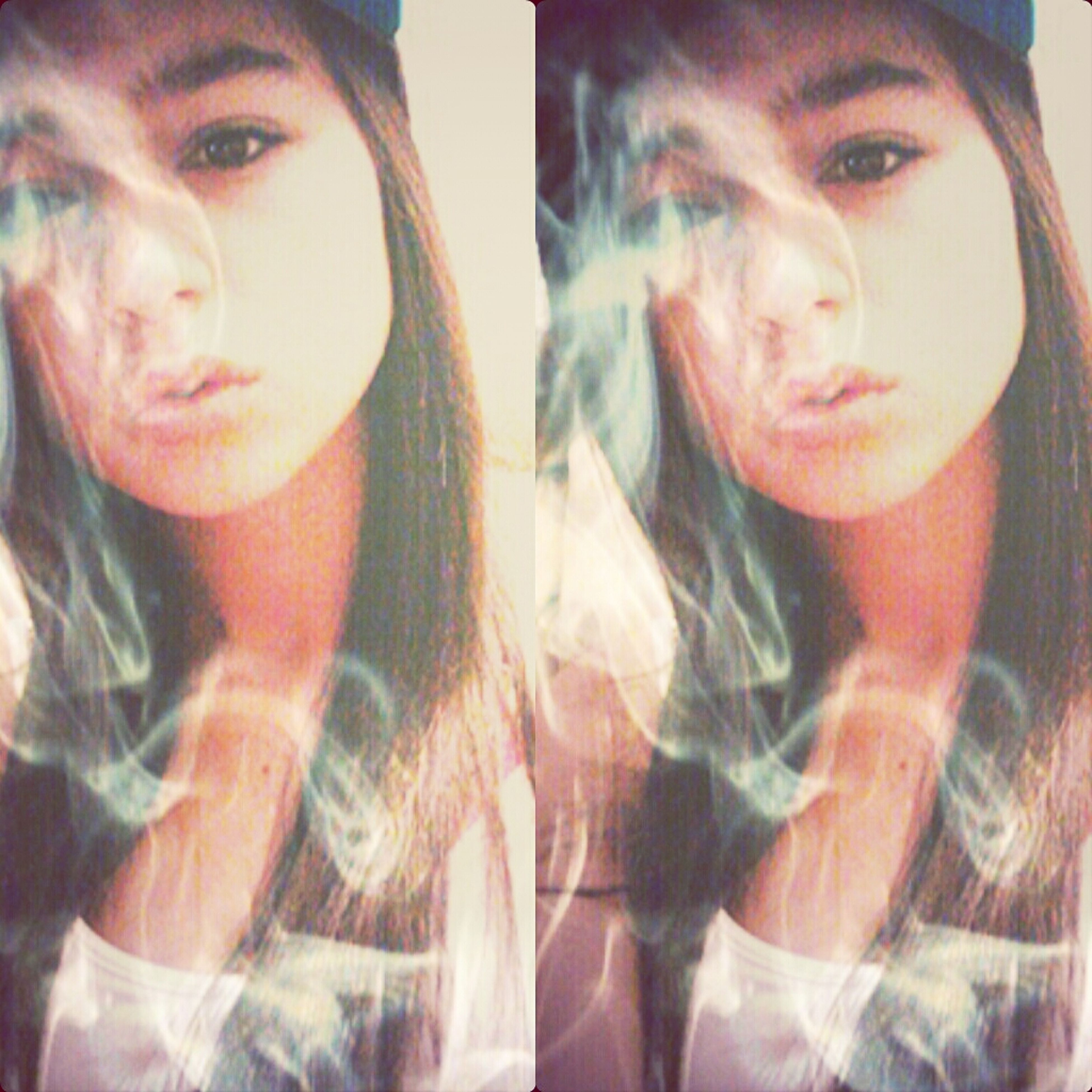 Not Real Smoke! But It Is What It Is♥