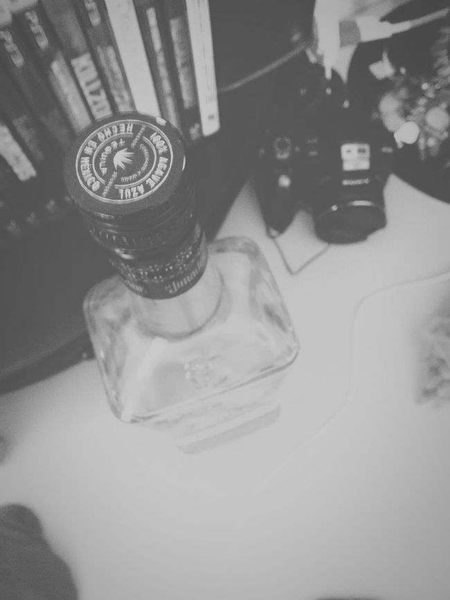 Taking Photos In My Room Tequila Camera Enjoying Life Wasting Time Blackandwhite Low Contrast Nothing To Do Missing Her How to tell her?...