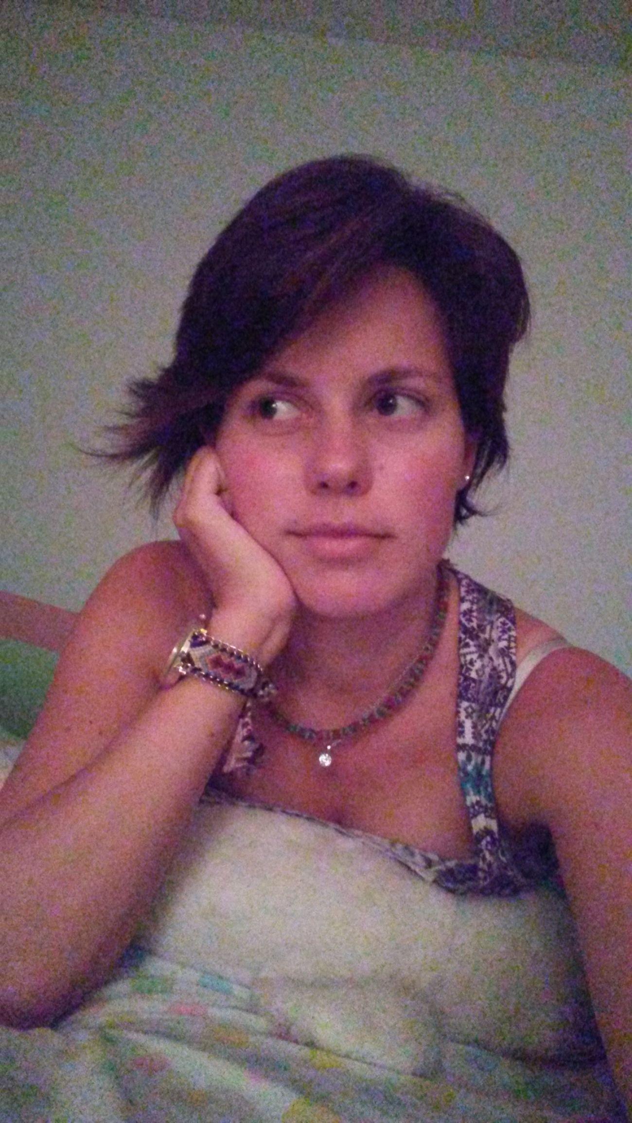 Front View Indoors  Necklace Selfie Women