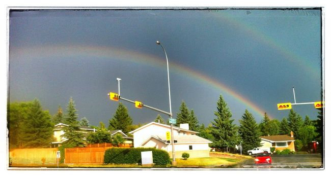 Rainbow this evening. Photography Rainbows IPhone Photo Of The Day