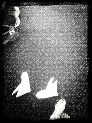 Things on the floor in Dublin by Deathlegs