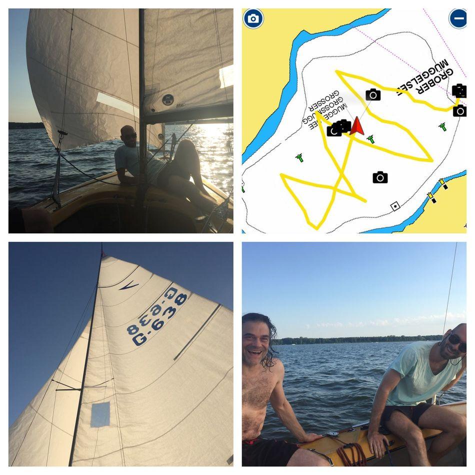 Dyas Boys Going Sailing Müggelsee