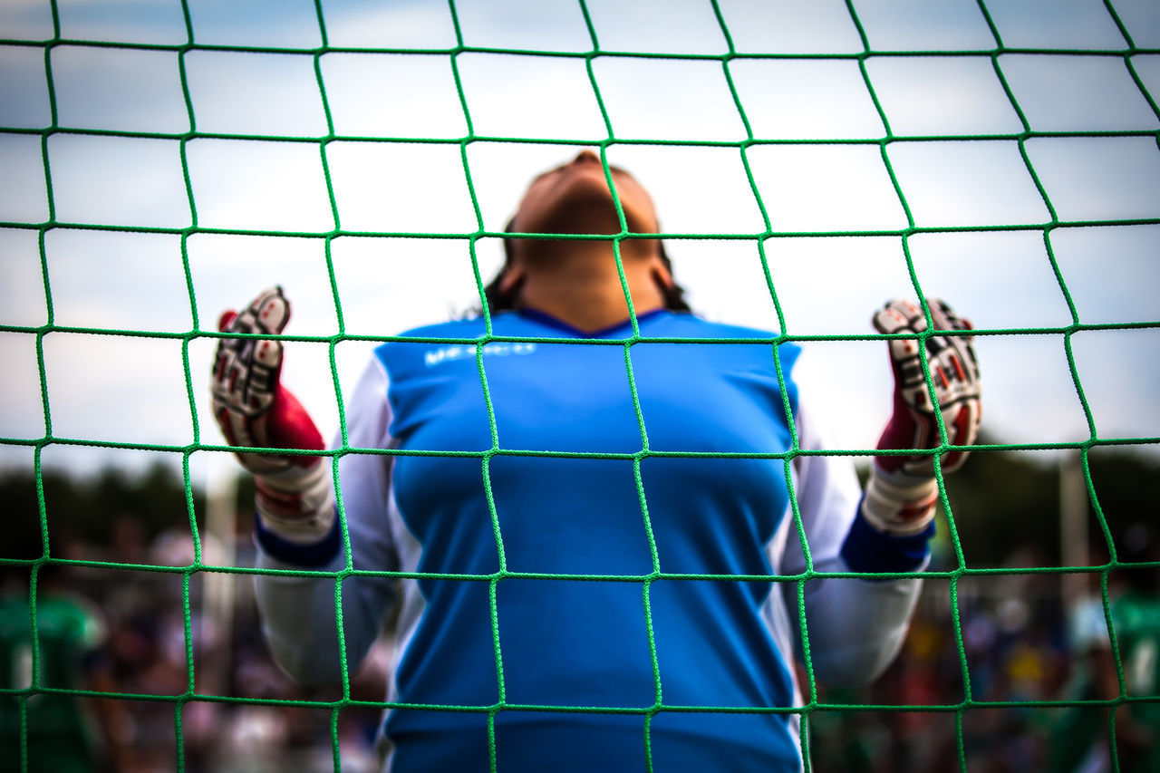 Beautiful stock photos of fußball, Blue, Day, Focus On Foreground, Human Body Part