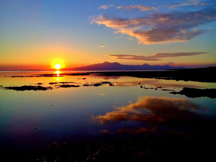 San Juan sunset Beachphotography Wowphilippines Siquijor Siquijorisland Visitph2015 Itsmorefuninthephilippines Wowsiquijor Bugwas Summer
