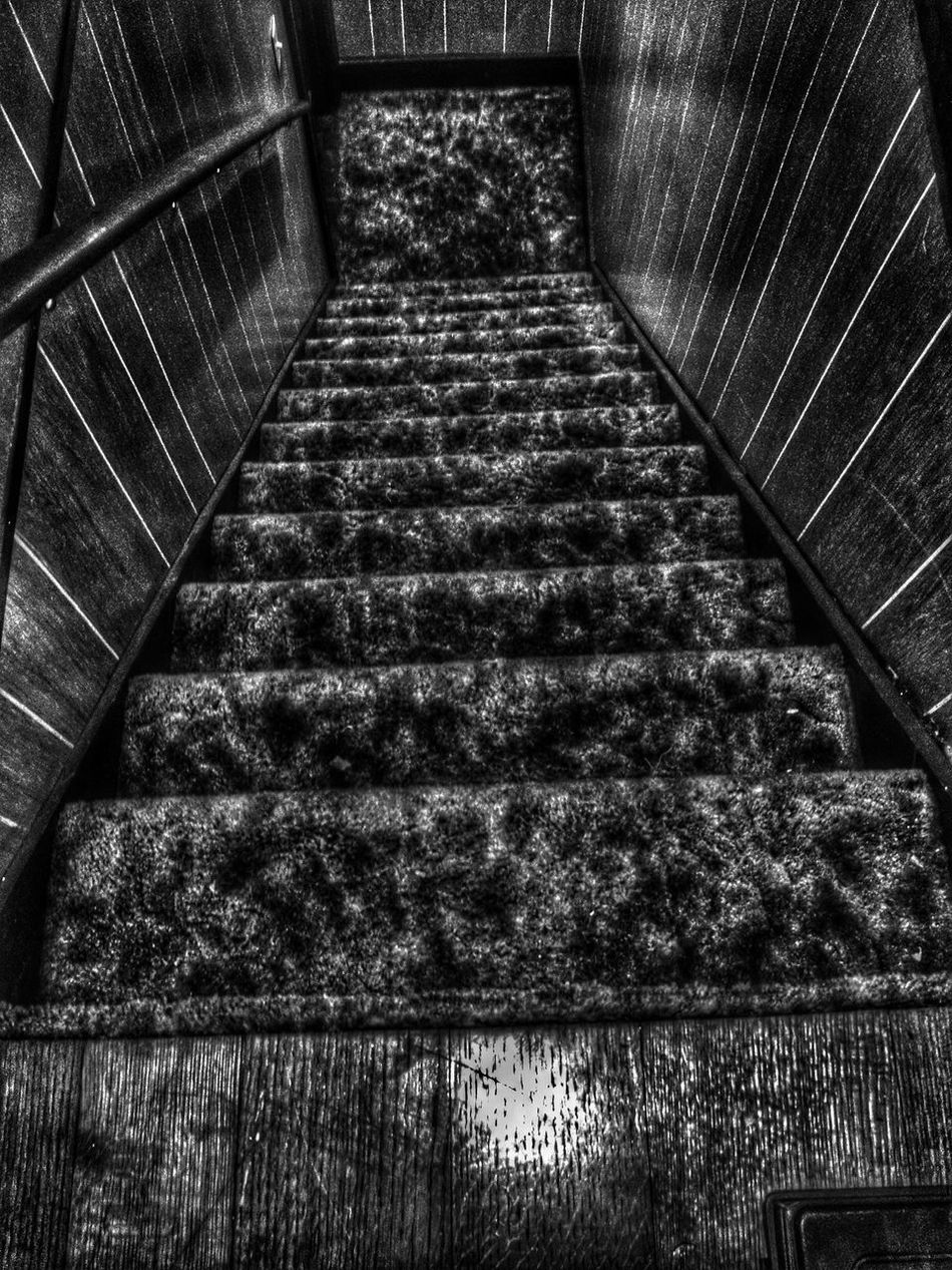 Dark Black And White Stellar Stairway To My Friends That Connect Hdr_Collection