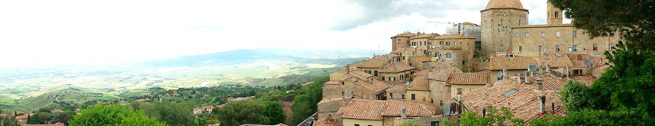 Italy Tuscany Old Cities Traveling View Volterra EyeEm Best Shots Panoramic View Panoramic Landscape Exploring Tuscany Seeing The Sights Greetings From Italy