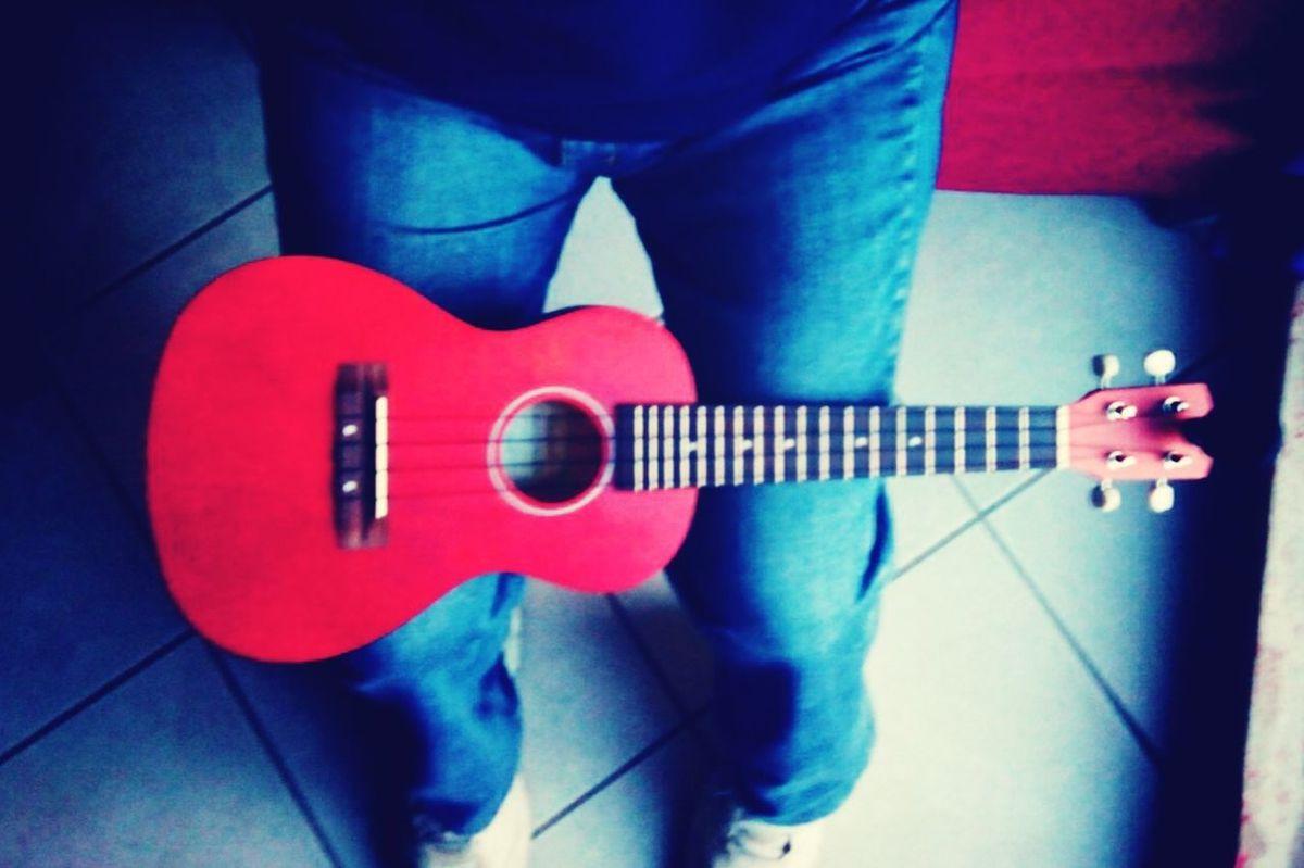 Playing My Ukulele