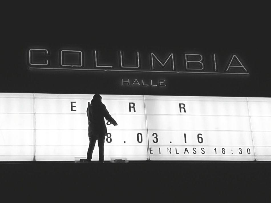 Concert Music Venue Columbiahalle
