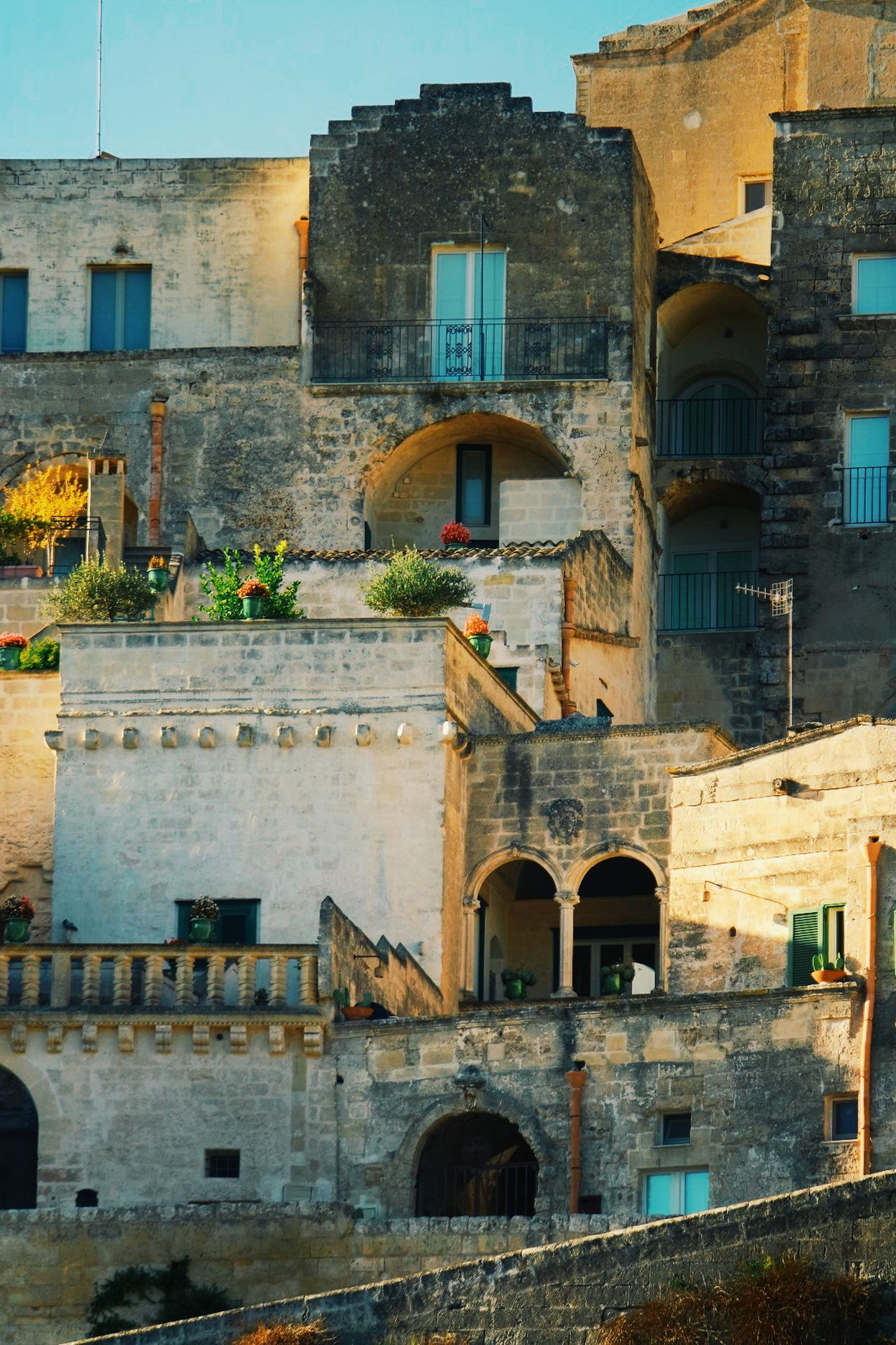 Matera Italy italian magic No People Travel Destinations Window City Architecture Old Buildings Old House Old Town Historical Place Historic City Italian Architecture