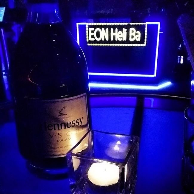 Bar Eon 52floors Hennessey drinks vsop drinks club