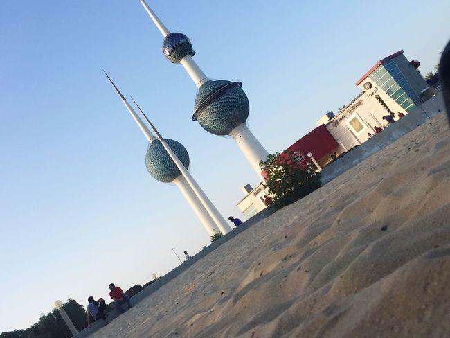 Kuwait Towers Kuwait City Architecture