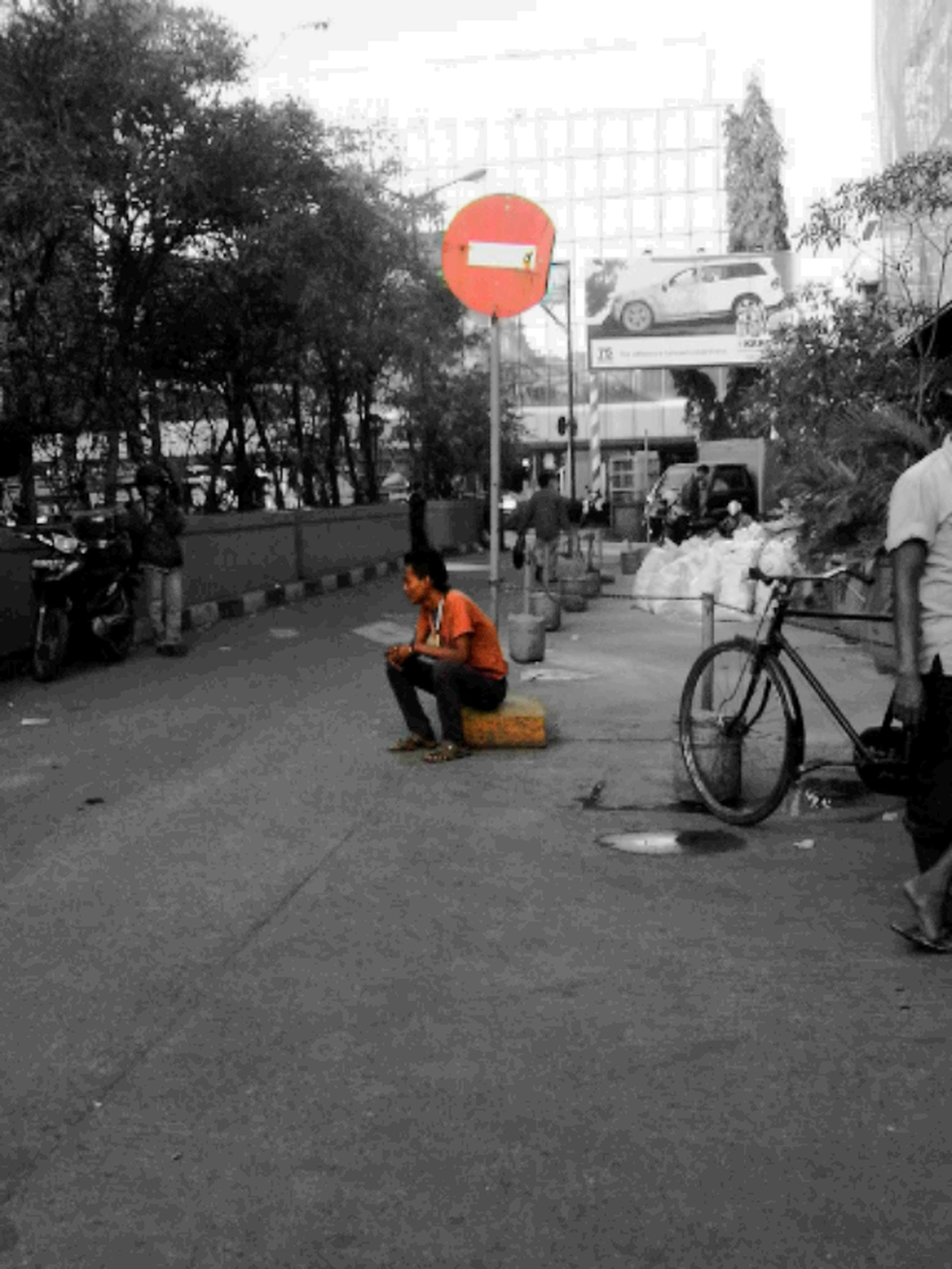 Waiting For Godot Blackandwhite Streetphotography