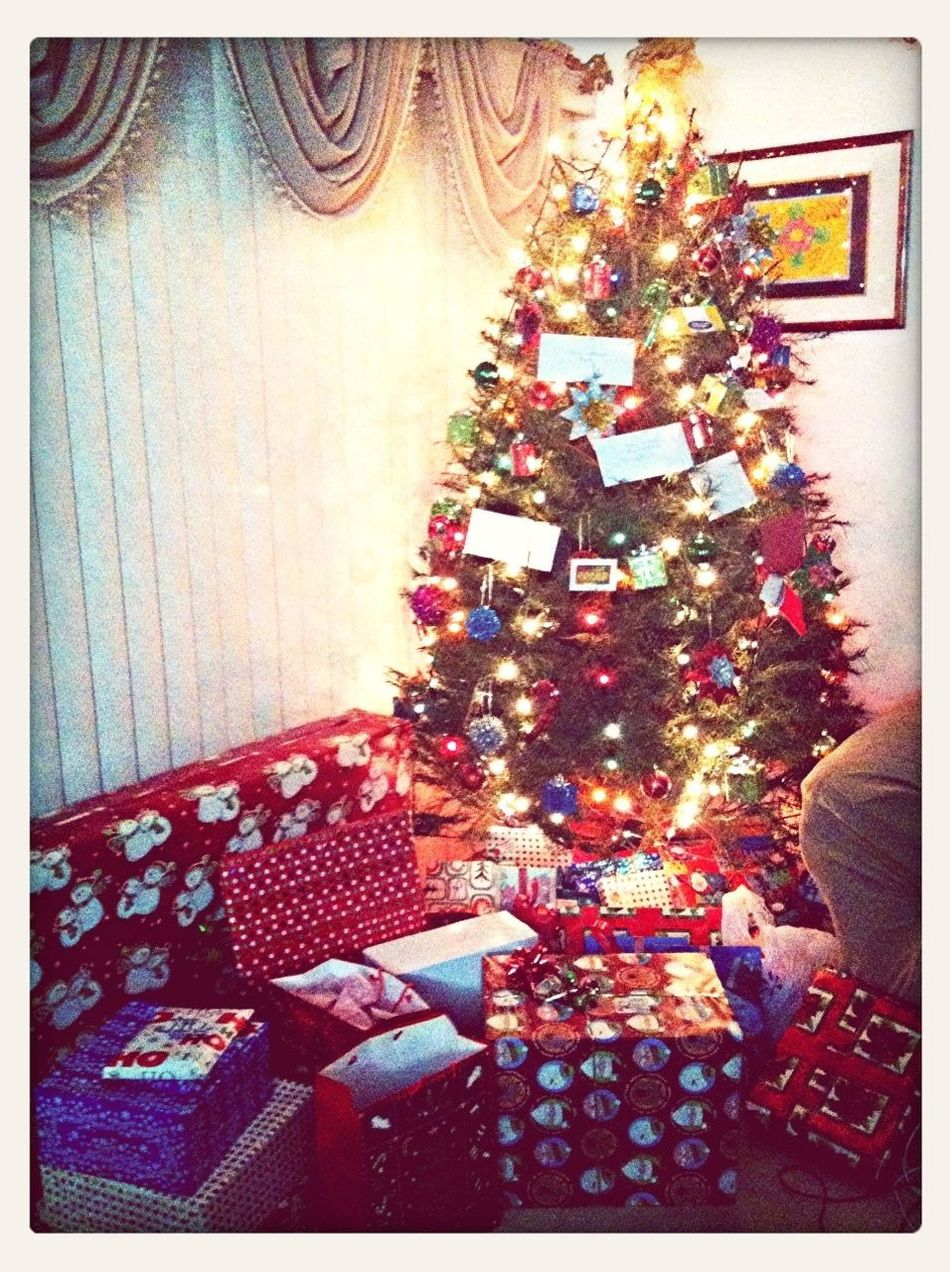 Waiting To Open Presents