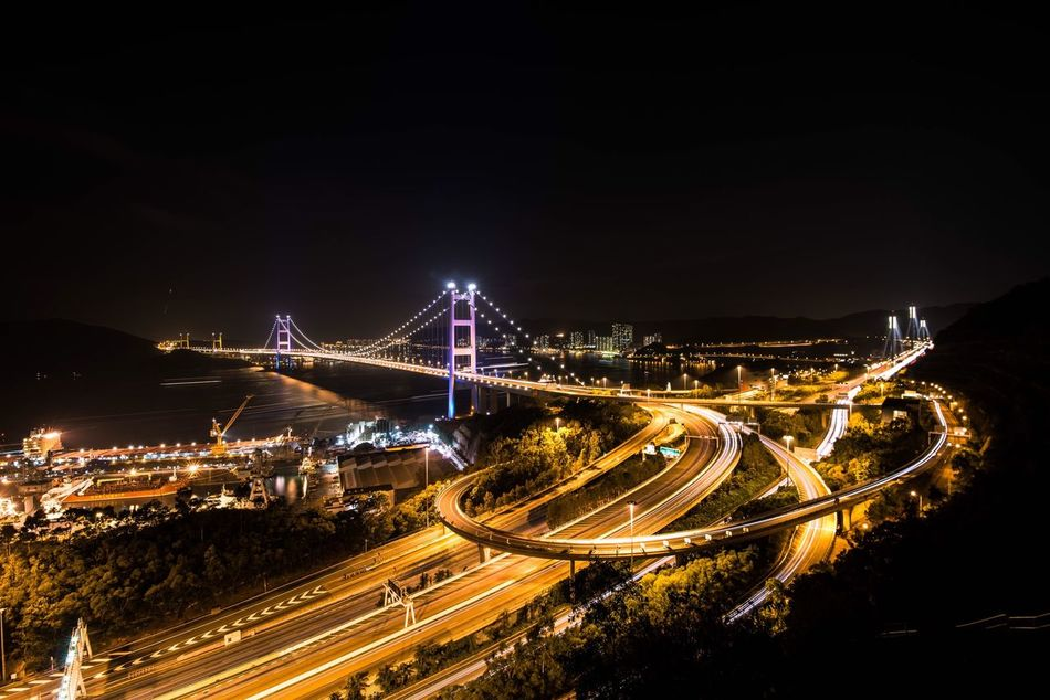 Beautiful stock photos of hong kong, Architecture, Bridge - Man Made Structure, Built Structure, Capital Cities