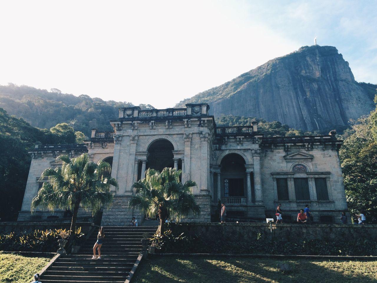 quintal de casa Parquelage Jardimbotanico Rio De Janeiro Rio De Janeiro Eyeem Fotos Collection⛵ Riodejaneiro Architecture Building Exterior History Travel Destinations