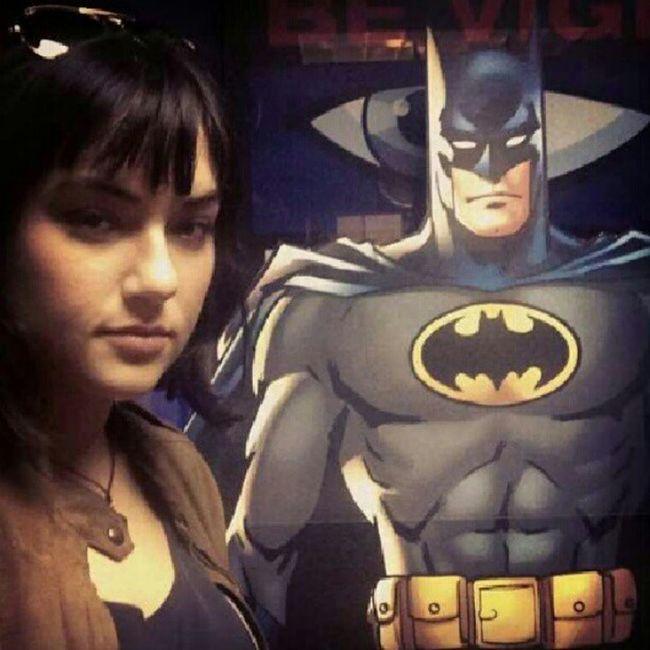 How Epic Sashagrey and Batman :-) thx @sashagrey made my day