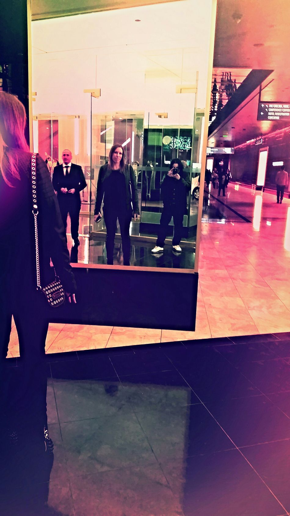 Remembering Vegas ?♥ (not always as easy as it sounds...) ? w/ my perma man crush soldier of love Vegas  Reflections Light Love MCM Cosmopolitan Las Vegas Wild Card Weekend Why Do I Always Wear Black HD Accessories