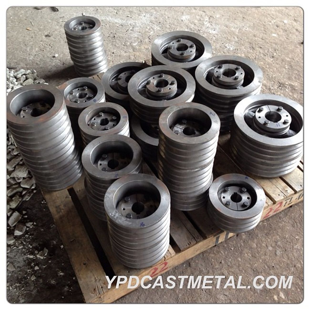 Pulley with taper!! Pulley Taper  Metalwork Metalworking metalsmith steel fc25 ypdcastmetal ricemill