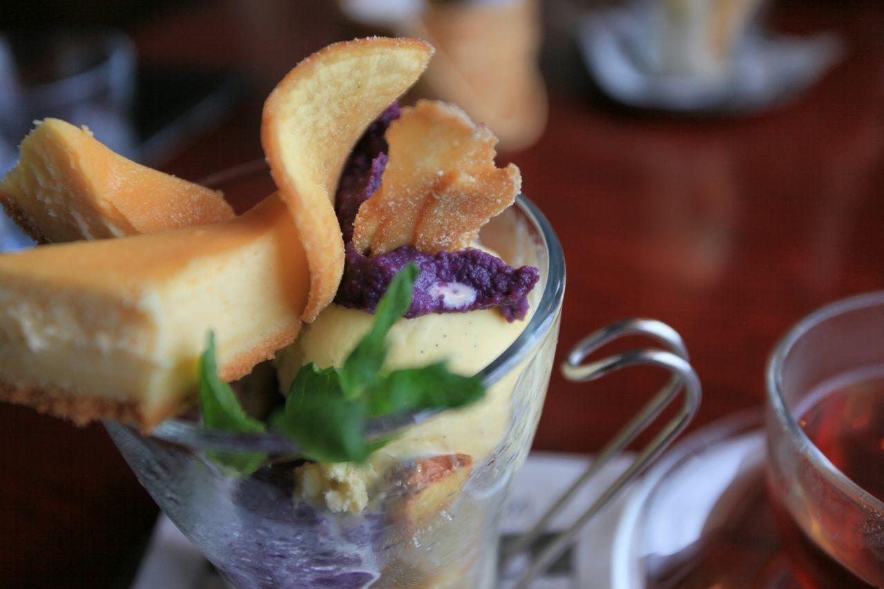 紫芋とバラアイス♪😋💘 Japanese Sweets Sweets 紫芋 Vanillaice Taking Photos Enjoying Life The Foodie - 2015 EyeEm Awards