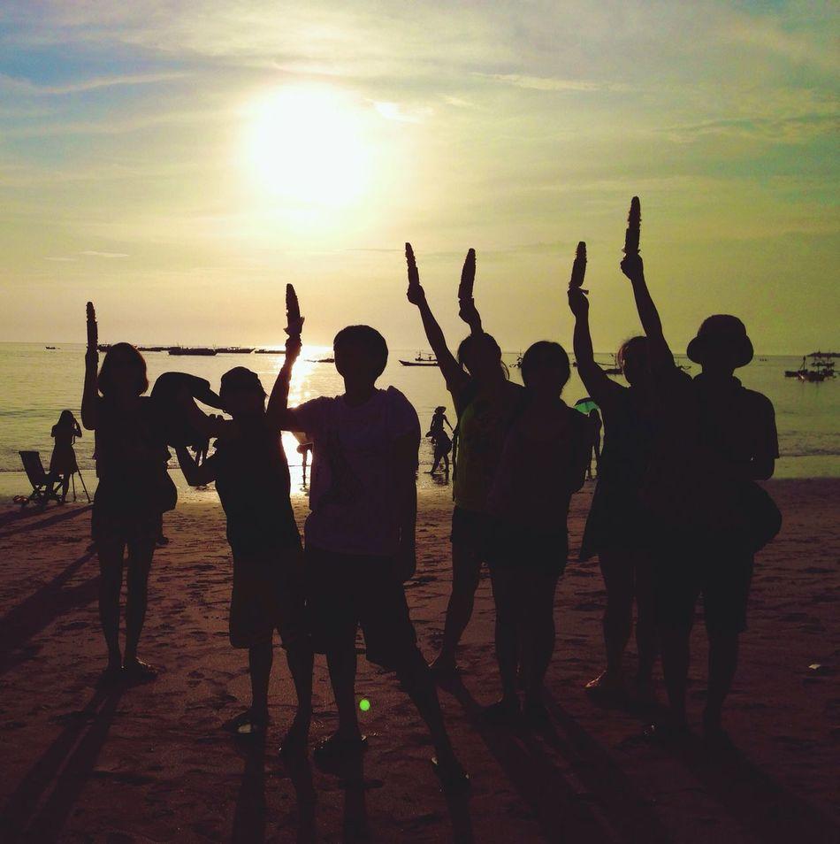 Beautiful stock photos of group, Beach, Calm, Childhood, Children