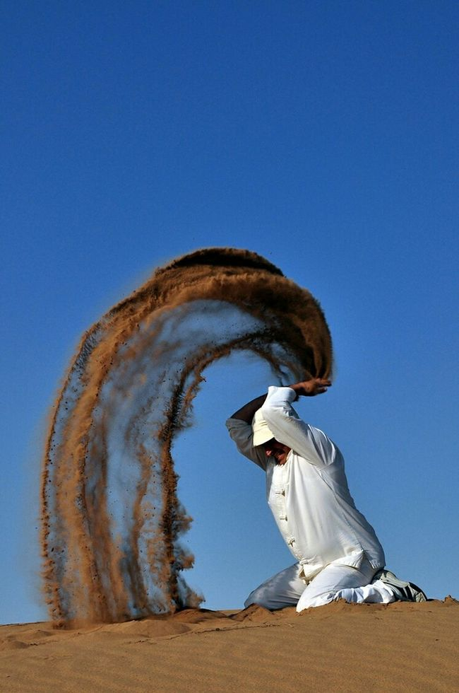 Deserts Around The World Iran Hemmatabad Khorasan Salt Desert Nature