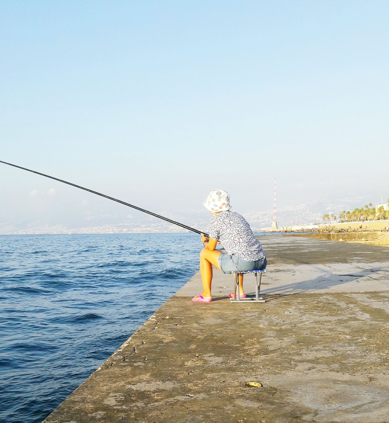 Sea People Beach Day Only Women Fishing Spot Sunday 9.7